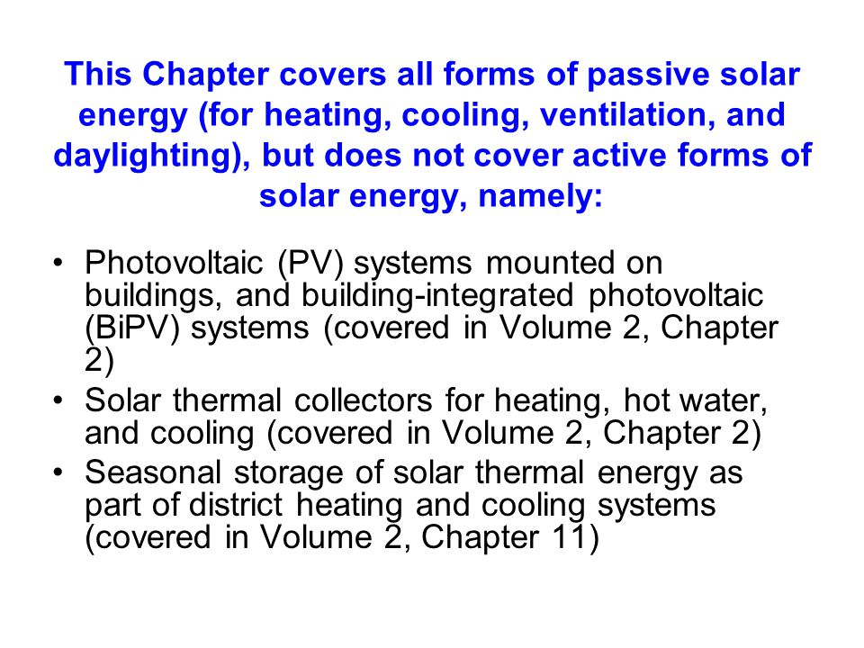 OVERVIEW OF ENERGY USE IN BUILDINGS