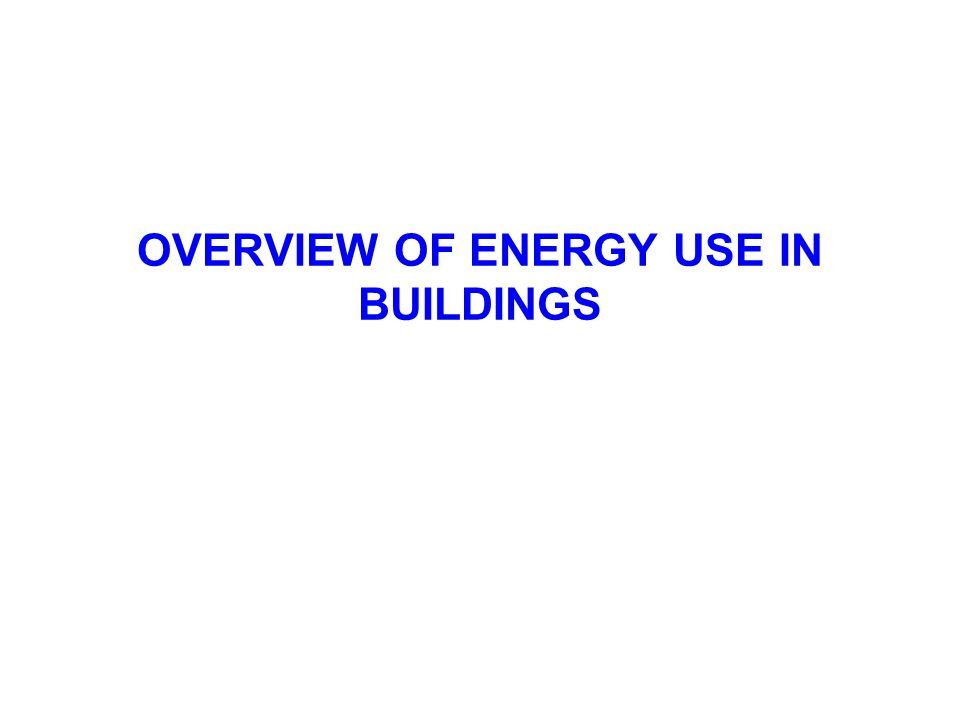 Figure 4.74 Building Embodied Energy