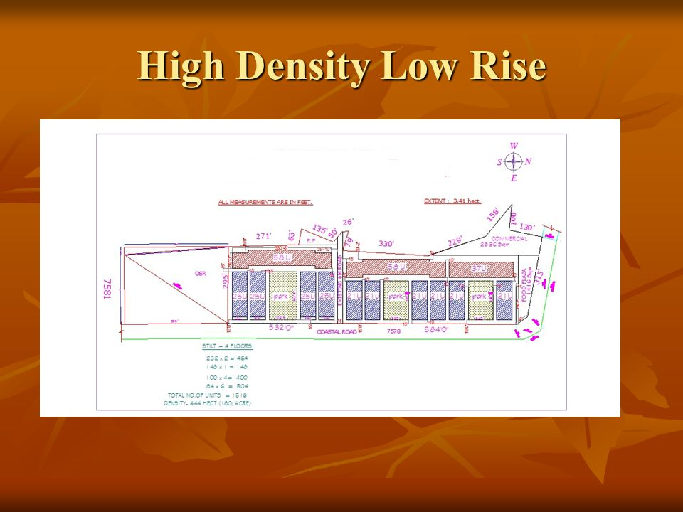 High Density Low Rise