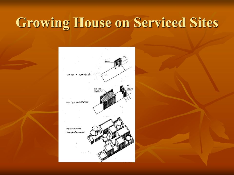 Growing House on Serviced Sites