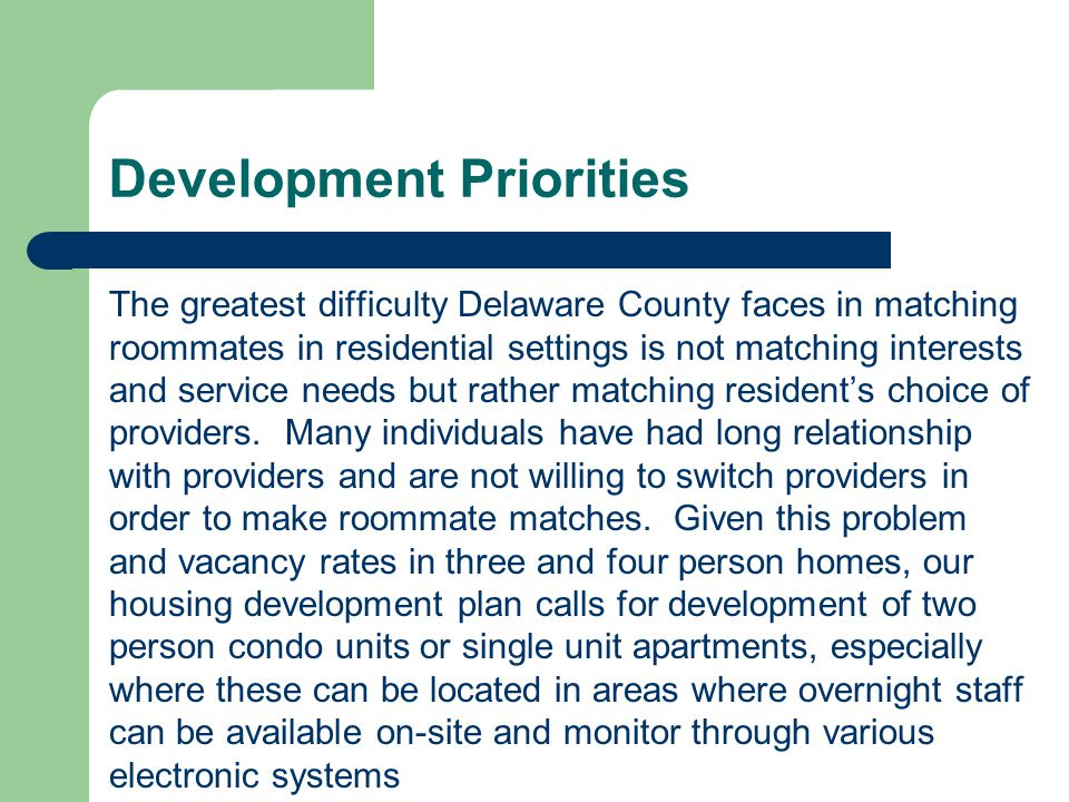 Other: Future Challenges Diversified funding Adequate staffing Clear communication between DCH and County Boards Planning Process: It may take a couple of years for this process to become efficient.