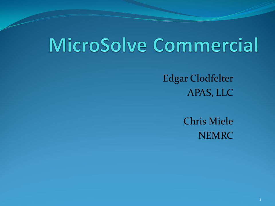 MicroSolve Commercial 92 Calculation Error Sample -4