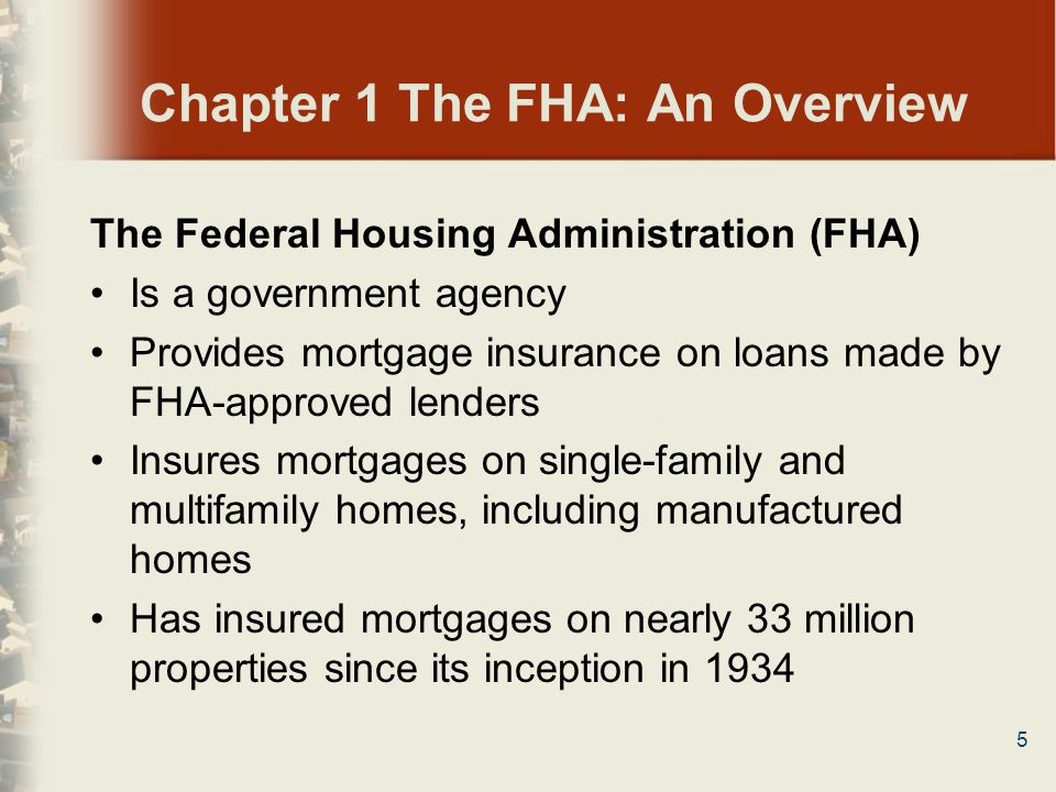 76 Chapter 4 FHA General Requirements 2.