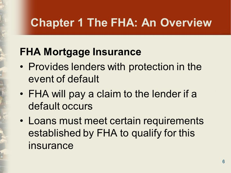 47 Chapter 3 Becoming and Remaining an FHA Appraiser True or False 2.The certification contained in the FHA Appraiser Roster application acknowledges that the FHA roster appraiser is not an agent or employee of HUD/FHA.