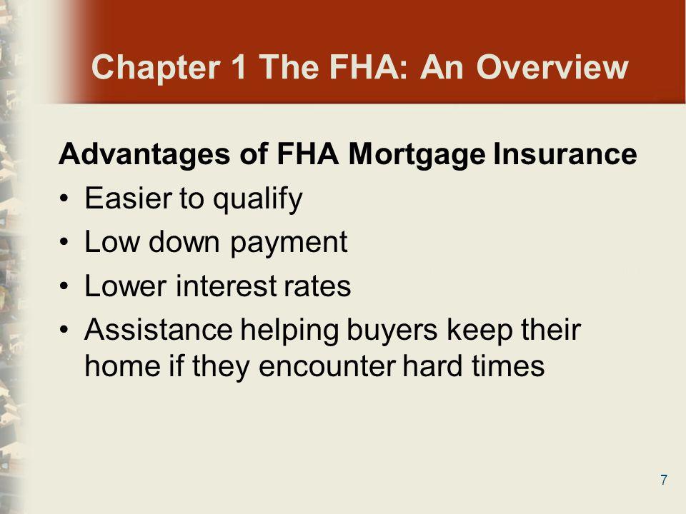 28 Chapter 2 FHA Loan Types Summary 5.