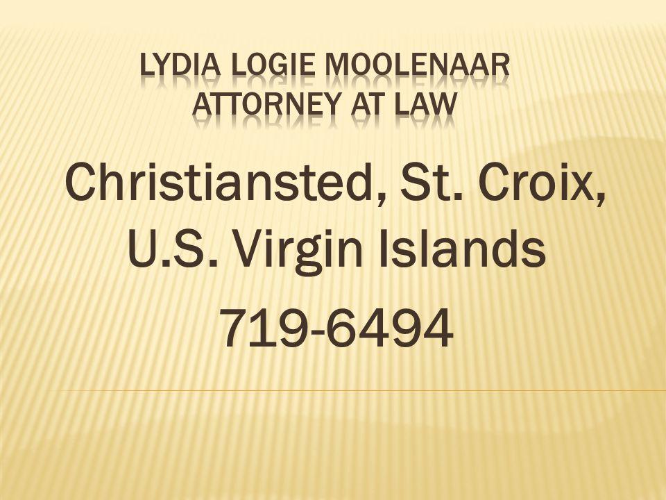 Christiansted, St. Croix, U.S. Virgin Islands 719-6494