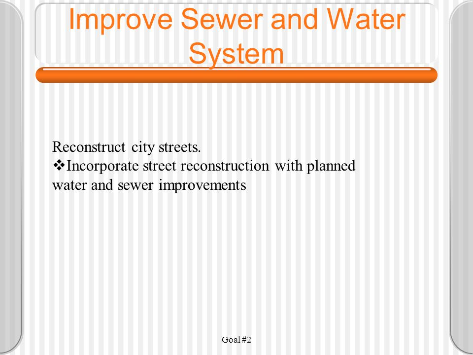 Goal #2 Develop a water well in Hurley and make distribution system improvements.