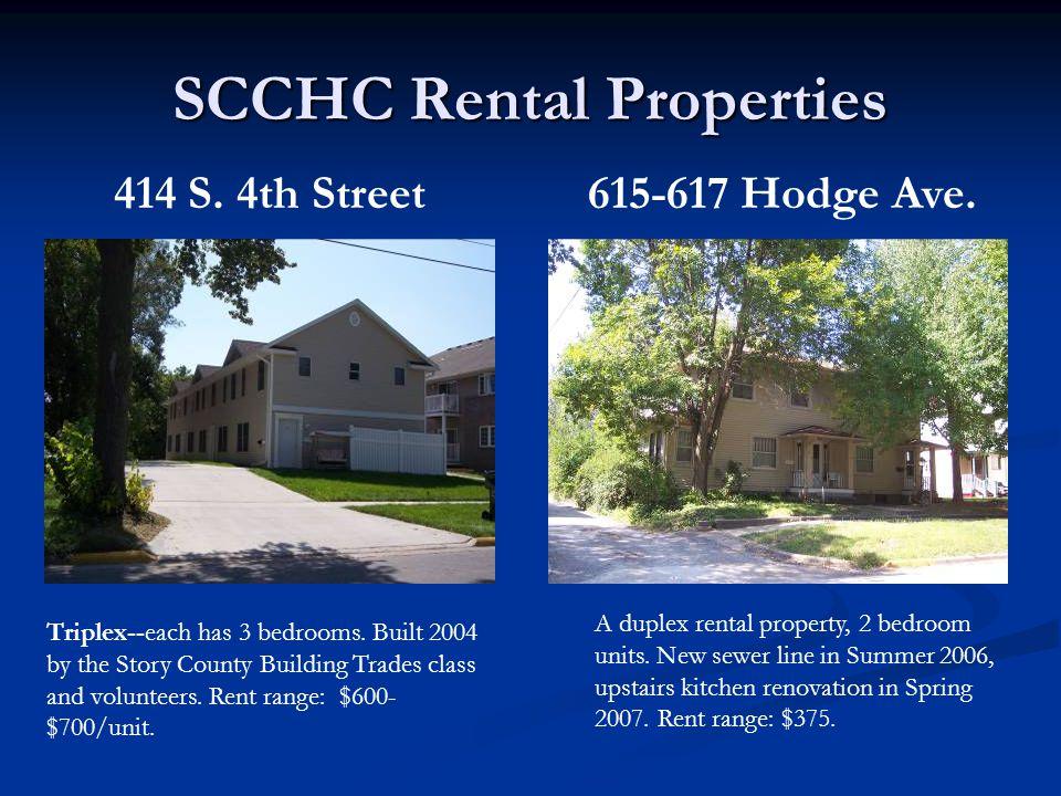414 S. 4th Street Triplex--each has 3 bedrooms.