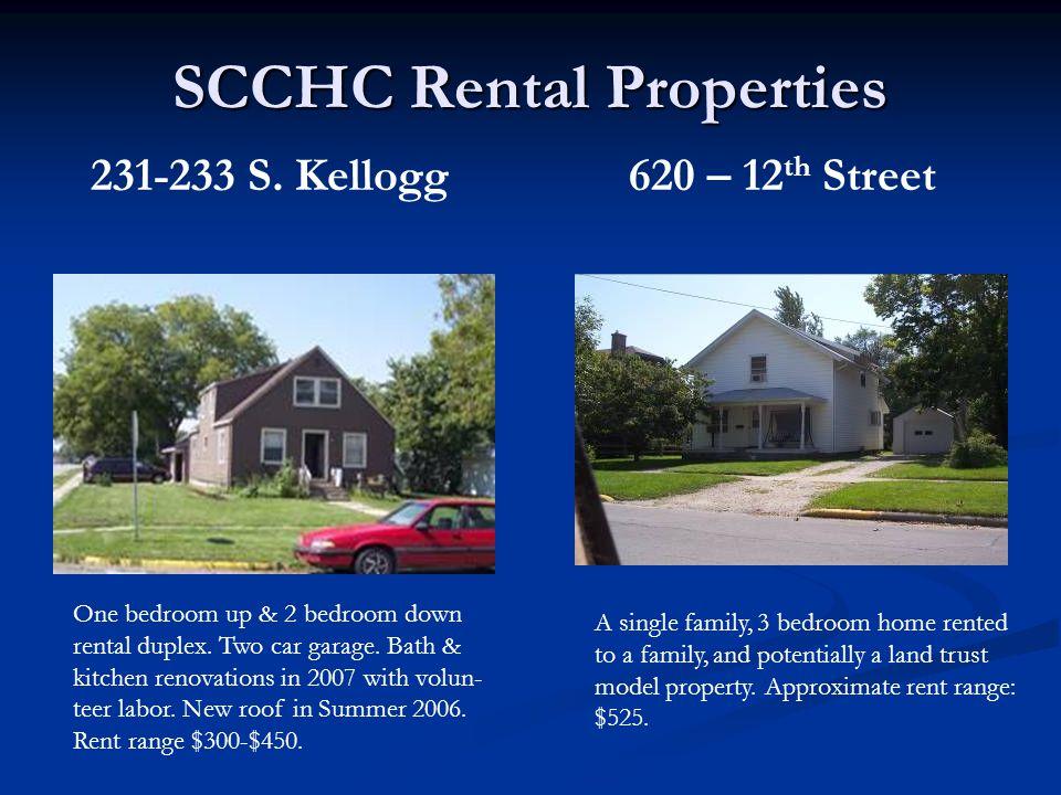 231-233 S. Kellogg One bedroom up & 2 bedroom down rental duplex.
