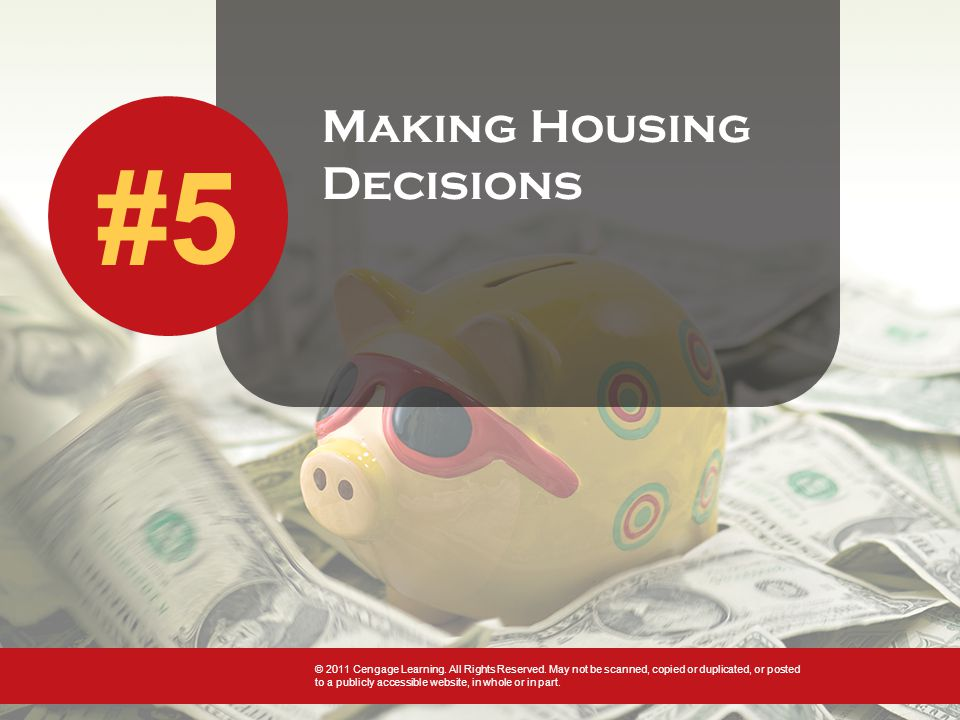 Meeting Housing Needs Single family home Most popular type Offers more privacy and property control