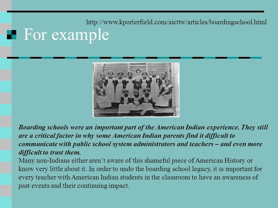 Boarding School History Off-reservation boarding schools for American Indian children began on November 1, 1878 when Captain Richard H.