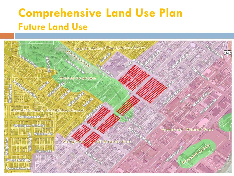Unified Development Chapter Current Zoning