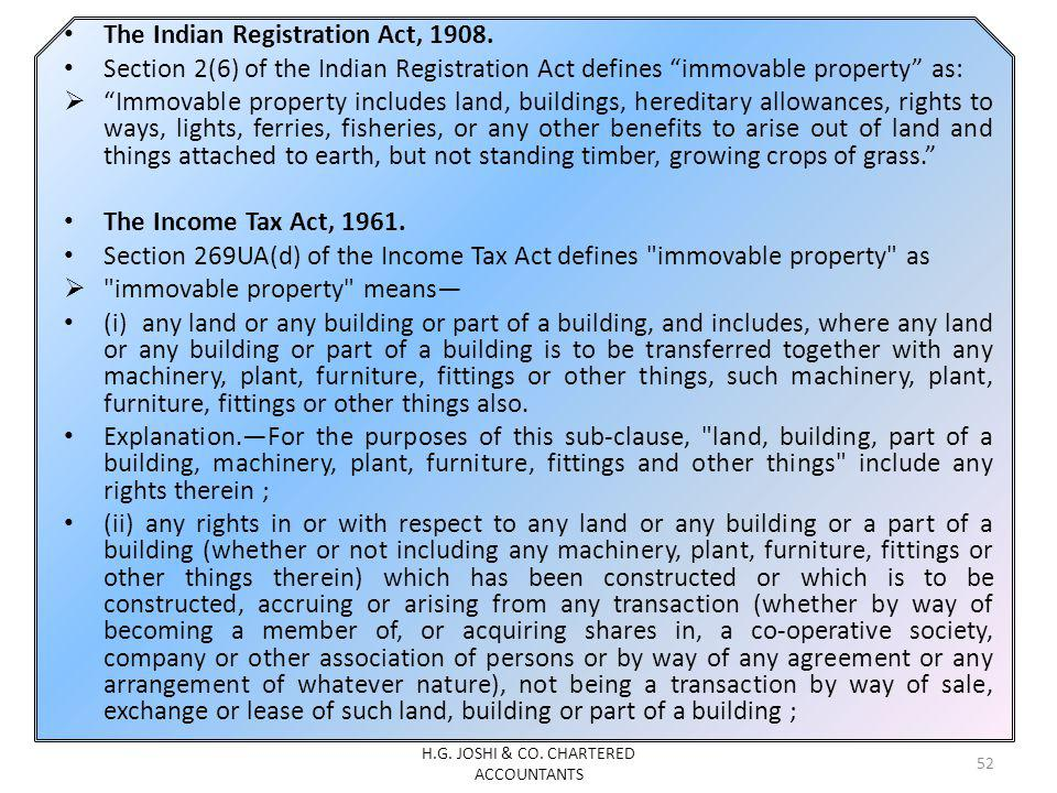 The Indian Registration Act, 1908.