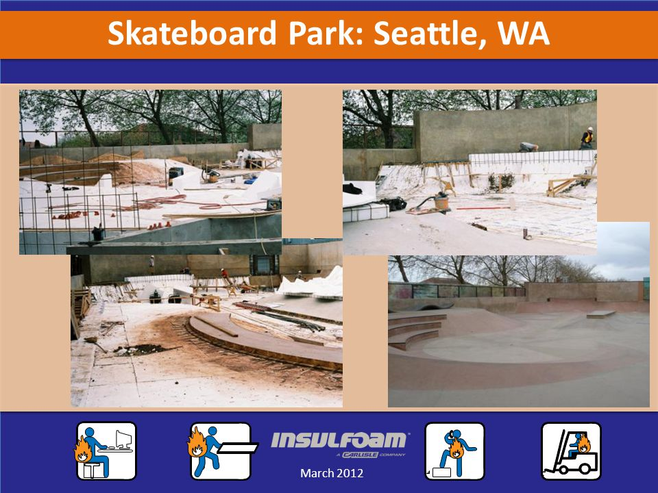 Sales Meeting March 2012 March 2012 Skateboard Park: Seattle, WA