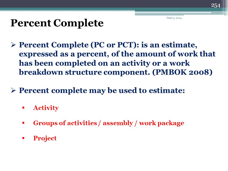 253 What is a baseline schedule? A baseline schedule is a schedule prepared by the contractor,usually before the start of the project,and used for per