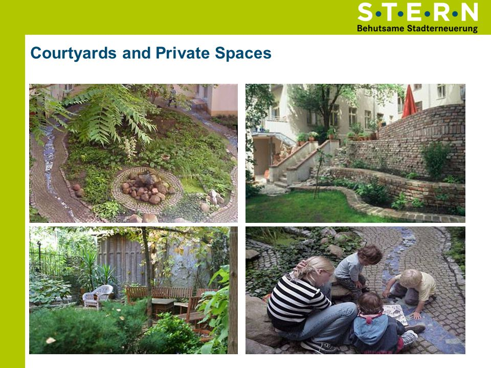 Courtyards and Private Spaces Senefelder Straße 19 Hofidyll Senefelder Straße 19 Fehrbelliner Straße 88