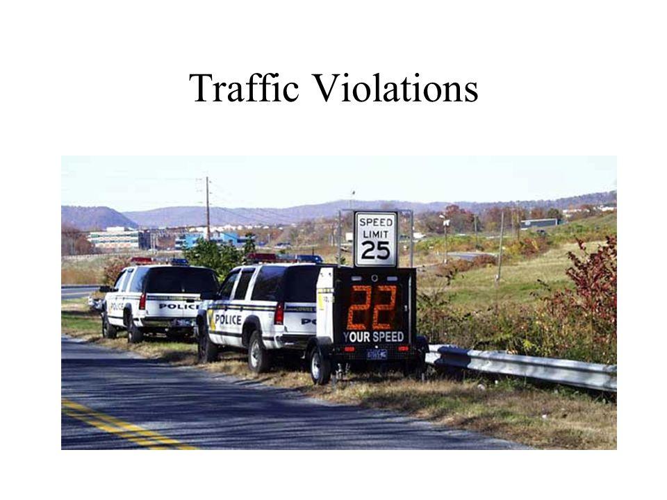 Traffic Violations
