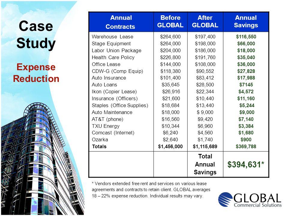 Cost Segregation (Accelerated Depreciation) Real Estate Investor Services Division