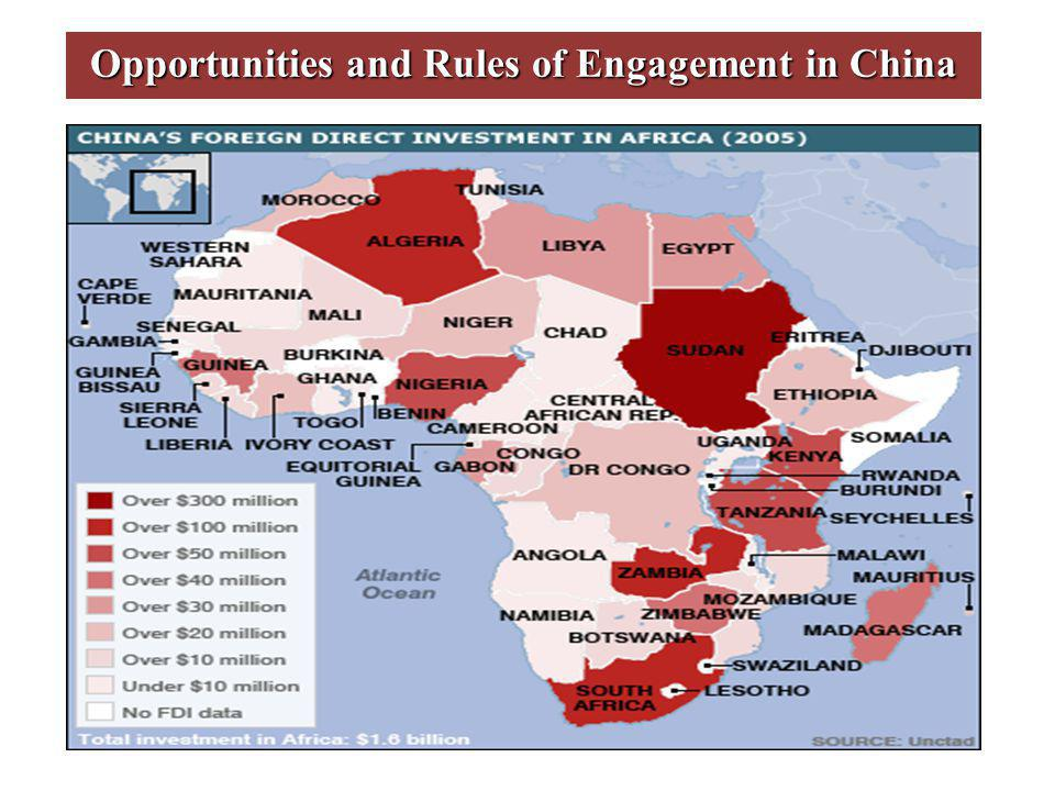 Opportunities and Rules of Engagement in China