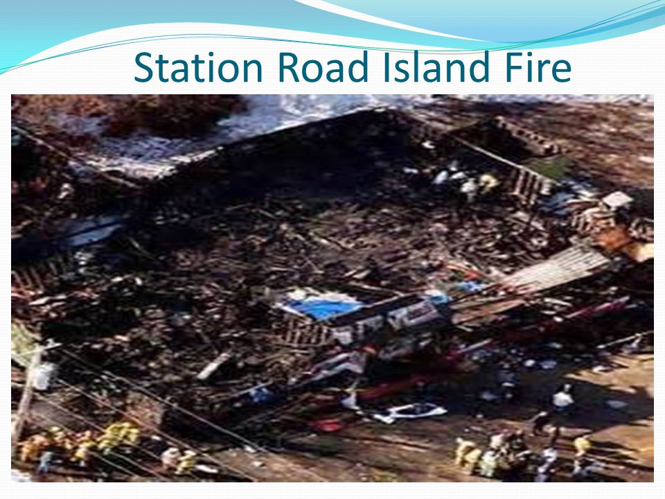 Station Road Island Fire