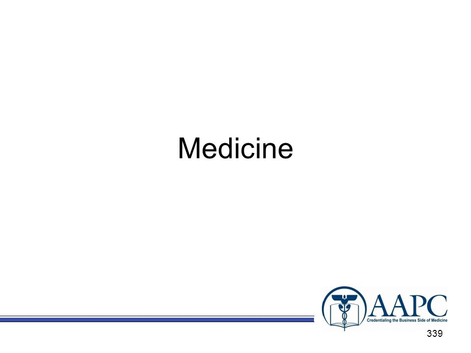 Medicine 339