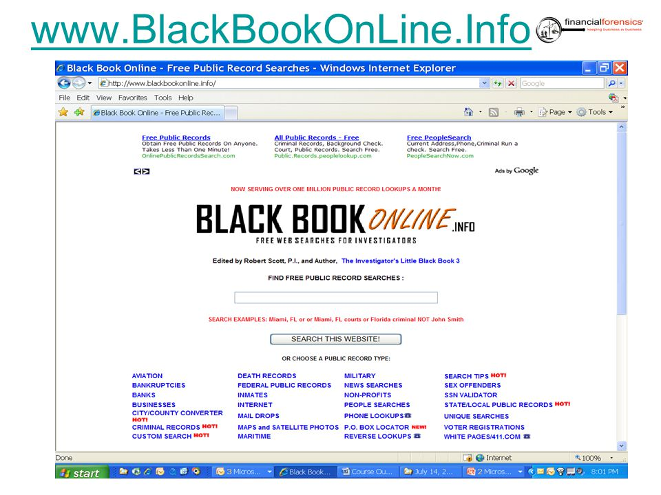 www.BlackBookOnLine.Info