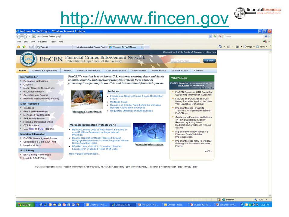 http://www.fincen.gov 37