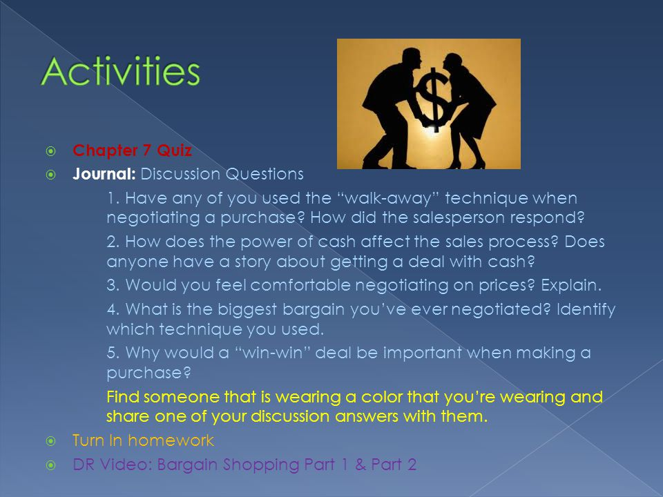 Chapter 7 Quiz Journal: Discussion Questions 1.