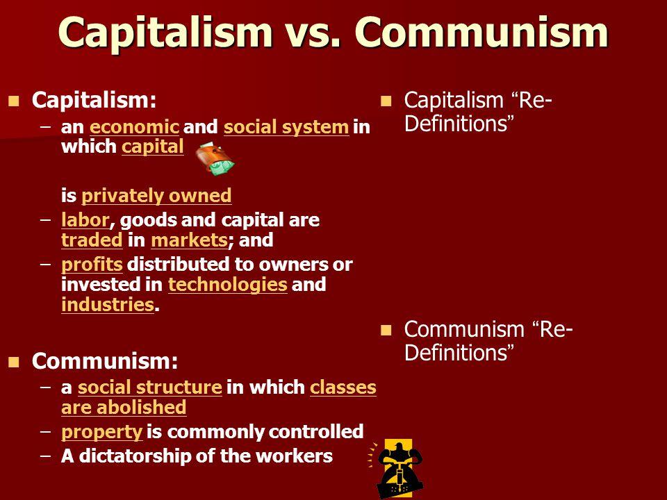 Capitalism vs.