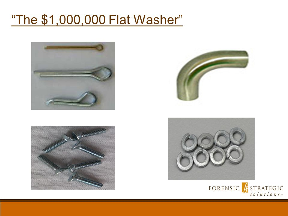 The $1,000,000 Flat Washer