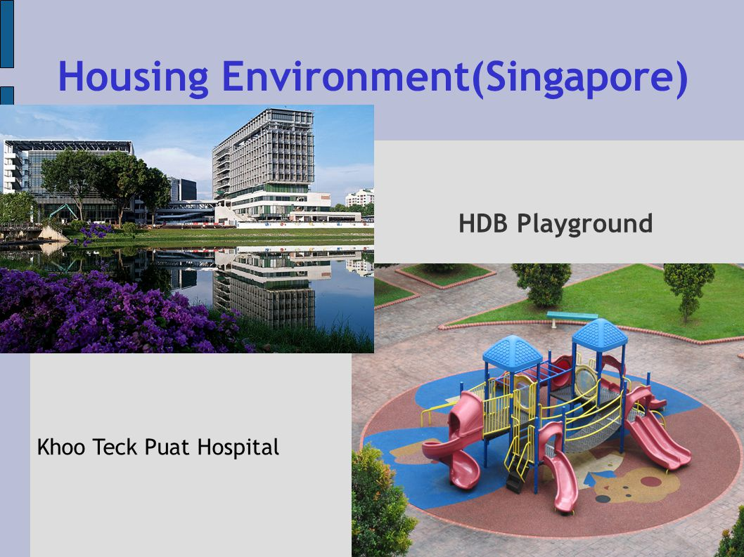 Khoo Teck Puat Hospital Housing Environment(Singapore) HDB Playground