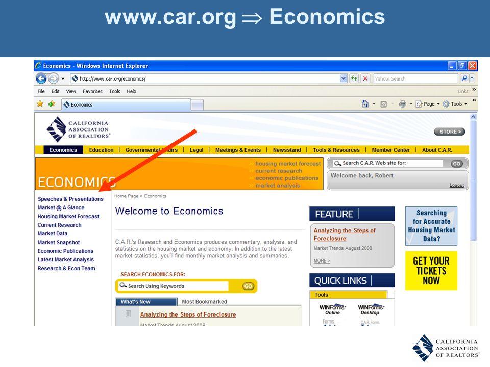 www.car.org Economics