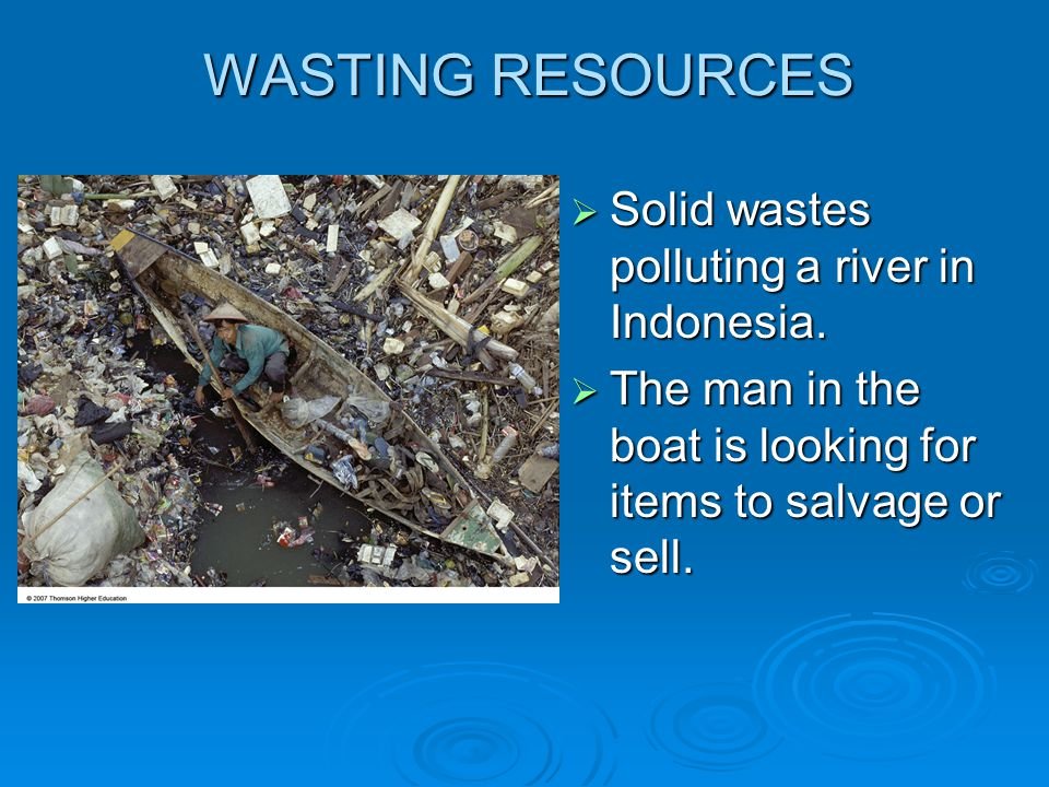 Burying Solid Waste Most of the worlds MSW is buried in landfills that eventually are expected to leak toxic liquids into the soil and underlying aquifers.