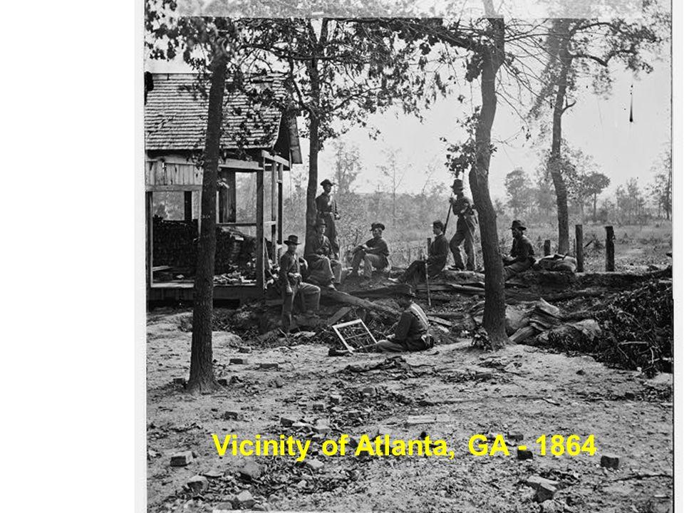 Vicinity of Atlanta, GA - 1864