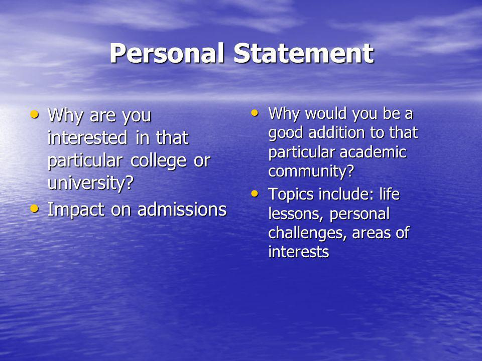 What are College Admissions Officers looking for in prospective students.
