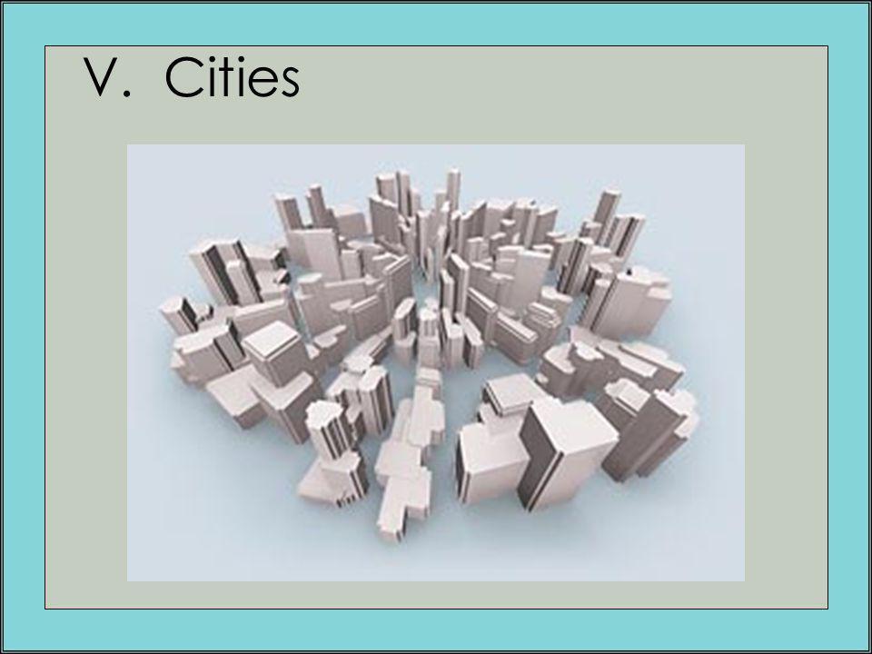 V. Cities