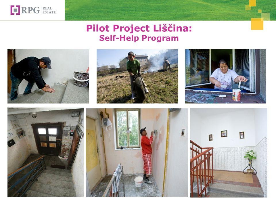 Pilot Project Liščina: Self-Help Program