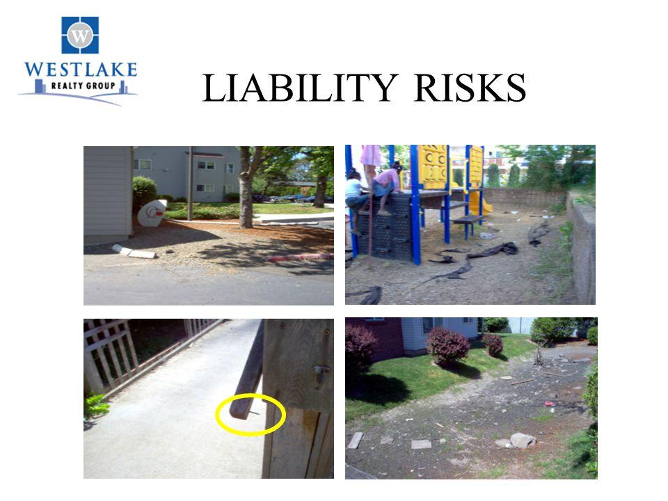 LIABILITY RISKS