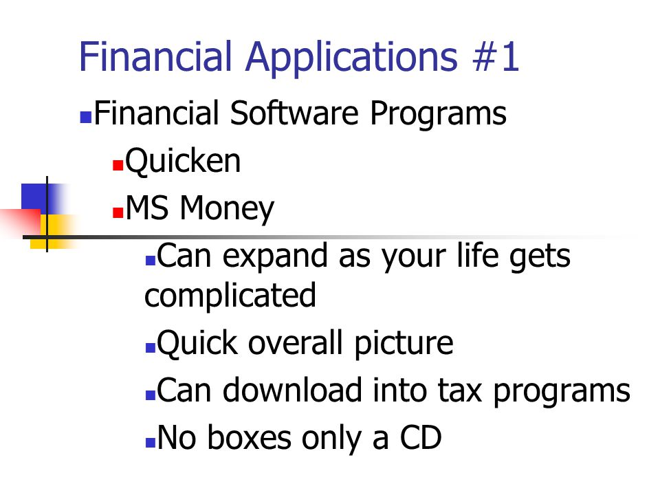 Financial Applications #1 Easy Tips For Credit Card Success Read, read, read, the fine print Know when and how to cancel Just say No to credit insurance Report lost or stolen card ASAP Go Online Keep track of purchases