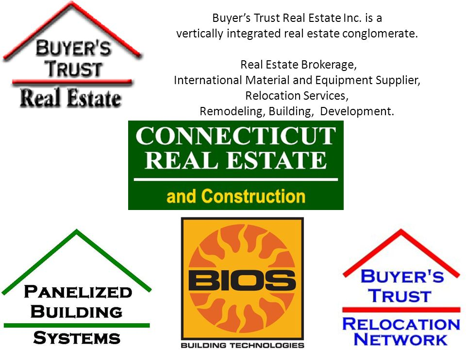 Buyers Trust Real Estate Inc.is a vertically integrated real estate conglomerate.