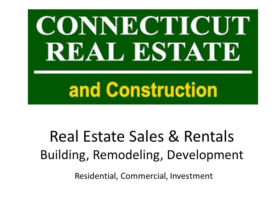 First Floor Connecticut Real Estate and Construction LLC.