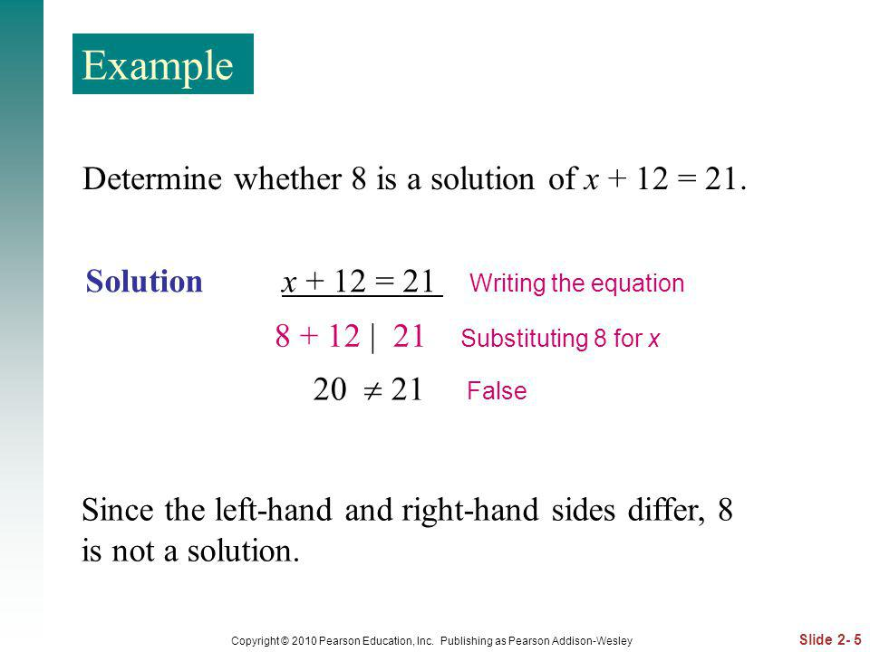 Slide 2- 6 Copyright © 2010 Pearson Education, Inc.