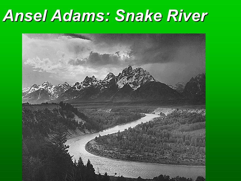 Ansel Adams: Snake River
