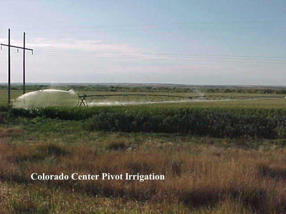 Colorado Center Pivot Irrigation