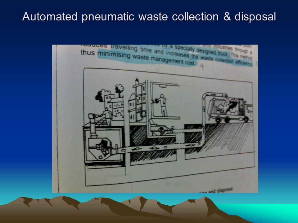 Automated pneumatic waste collection & disposal