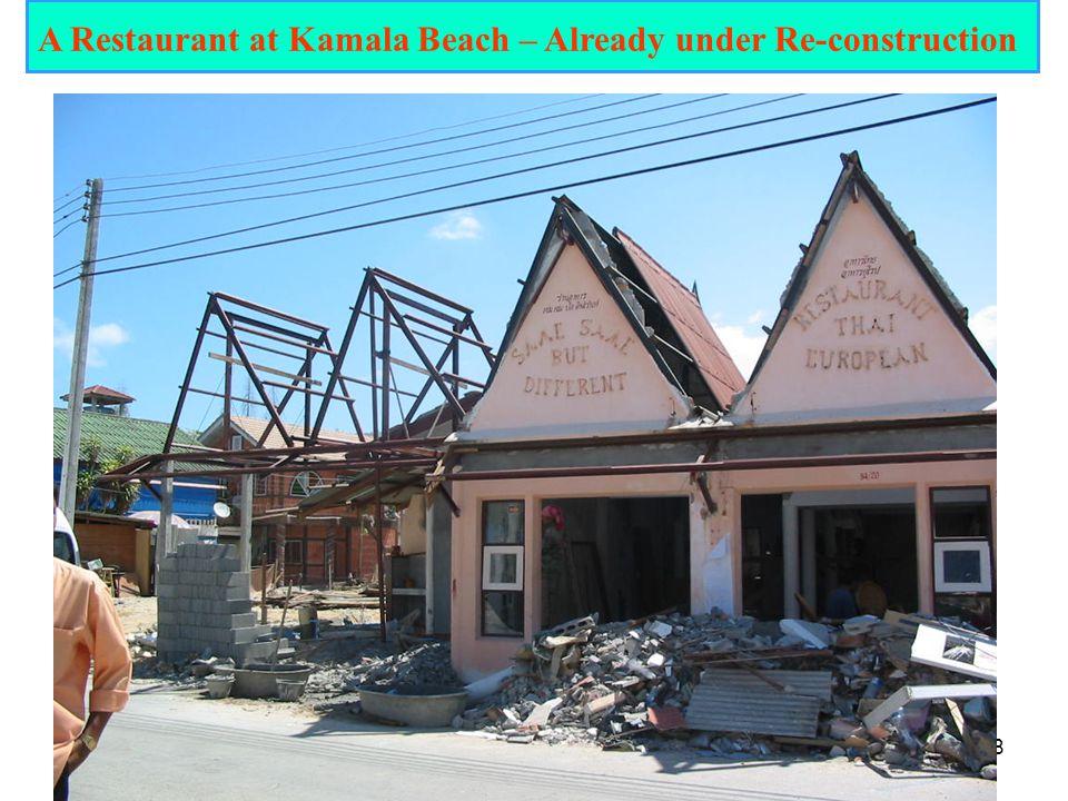18 A Restaurant at Kamala Beach – Already under Re-construction
