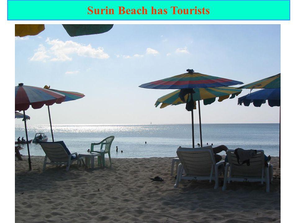 21 Surin Beach has Tourists