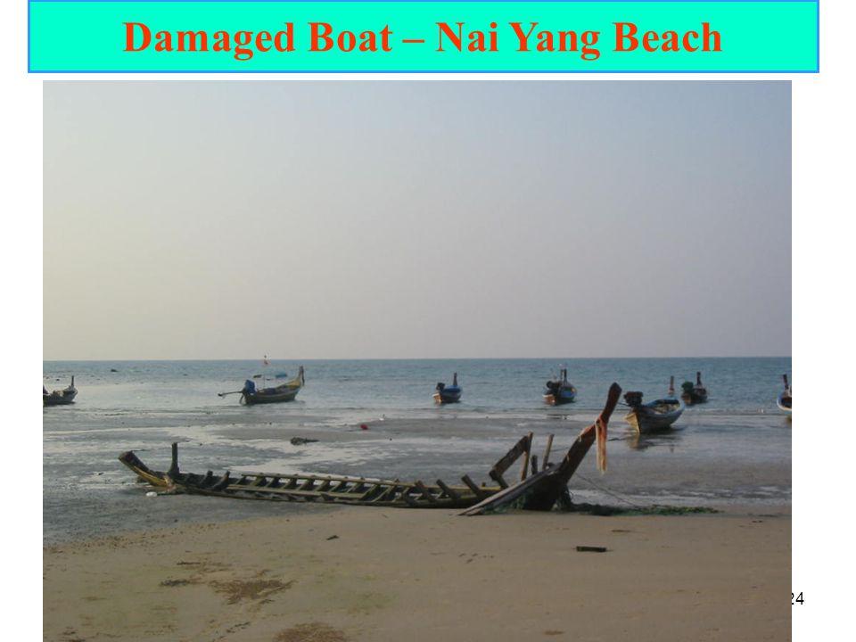 24 Damaged Boat – Nai Yang Beach