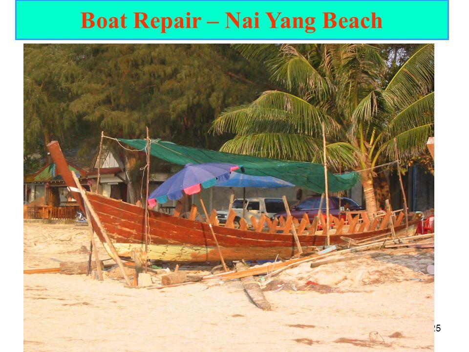 25 Boat Repair – Nai Yang Beach