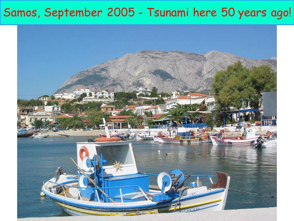 27 Samos, September 2005 - Tsunami here 50 years ago!